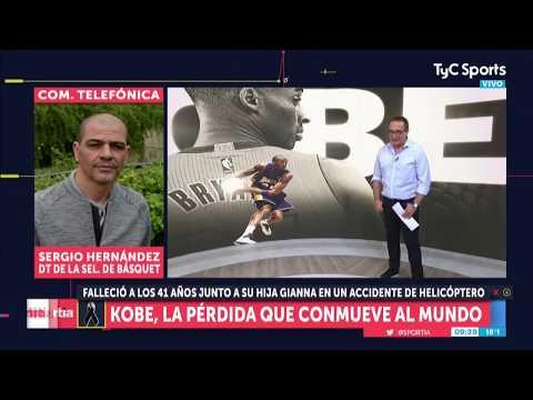Oveja Hernández Sobre Kobe Bryant - Entrevista Completa En Sportia
