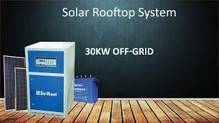 Solar Power System   30kW Off-Grid solar system