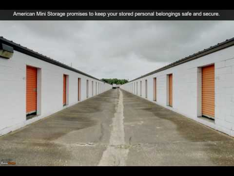 American Mini Storage | Montgomery, AL | Self Storage