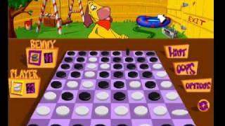 Pc game  Corel Wild Board Games. -Gameplay