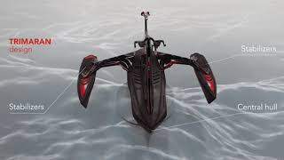 Red Shark Bikes - WATER BIKE - Sport Model (Quality Details)