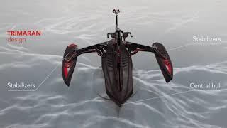 Red Shark Bikes - WATER BIKE - Sport Model (Quality Details)