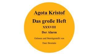 Agota Kristof • Das Große Heft • Kapitel 38 • Der Alarm • Hörbuch • Lesung
