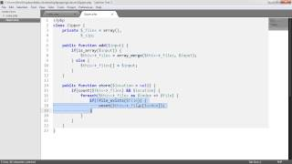 Zip files with PHP: Building the Class