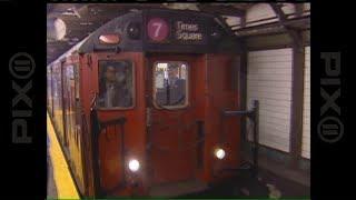 The last Redbird subway train leaves service