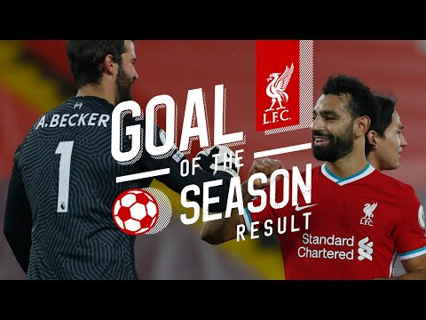 Liverpool's Goal of the Season result | Top 5 Goals 2020/21