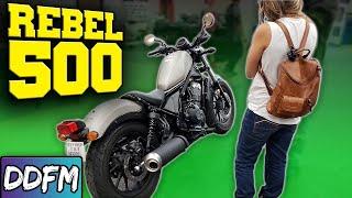 NEW BIKE! 2018 Honda Rebel 500
