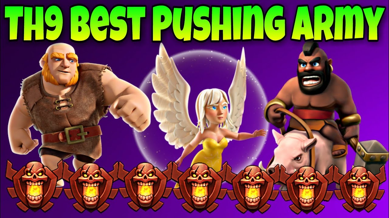 New GoWiWi : QUEENWALK + GOPEBOWITCH Th9 New Attack Strategy 2019
