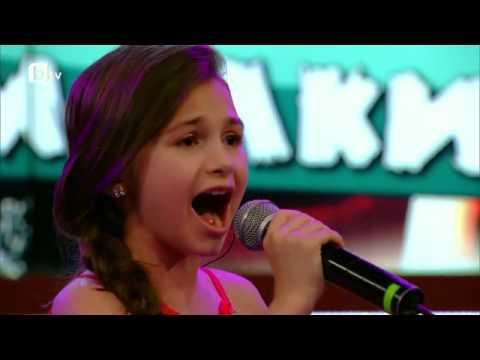 "Krisia Todorova Singing ""Beautiful, Beautiful"" by Francesca Battistelli"