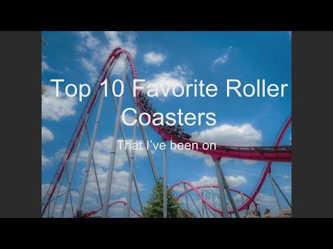 Top 10 Favorite Roller Coasters (Fall 2018)