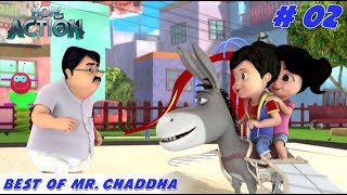 Best of Mr. Chaddha - Part 2 | Vir the Robot Boy | Mixed Gags for kids | WowKidz Action