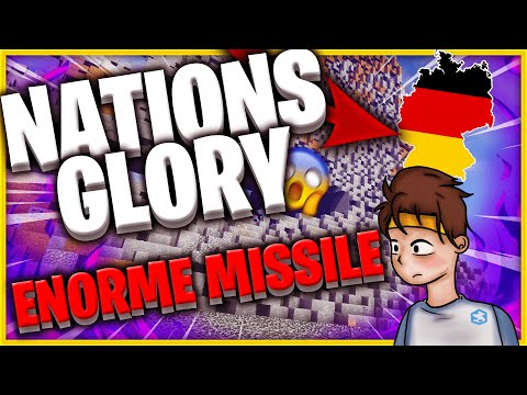 🧨 ENORME MISSILE SUR L'ALLEMAGNE NATIONSGLORY (EARTH NG) 😈