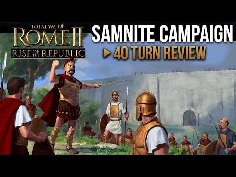 Total War: Rome II - Rise of the Republic (Samnite Campaign)