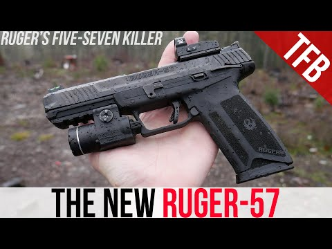 NEW Ruger-57: Better Than The Five-seveN?