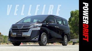 Toyota Vellfire first drive | For the jet setters | PowerDrift
