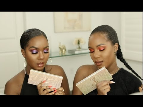 FIRST TIME FRIDAY  Jackie Aina x Anastasia Beverly Hills Palette GRWM thumbnail