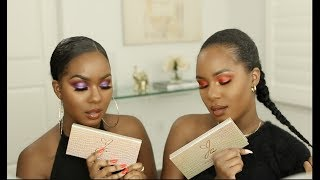 FIRST TIME FRIDAY| Jackie Aina x Anastasia Beverly Hills Palette GRWM