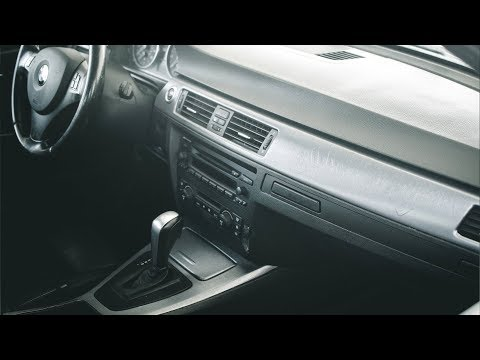 DIY: BMW E90 Interior Vinyl Wrap | 3M Brushed Steel