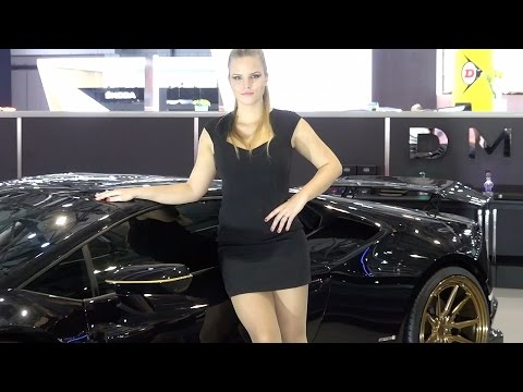Geneva Motor Show 2017 SUPERCARS and HOT GIRLS