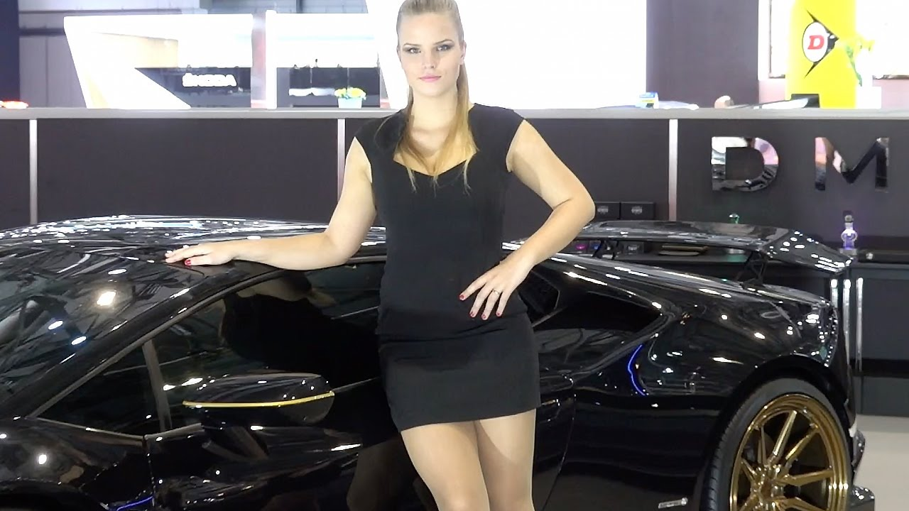 Free Wallpaper Cars And Beautiful Ladies Ferrari Geneva Motor Show 2017 Supercars And Hot Girls Youtube