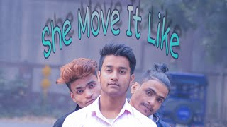 She Move It Like - badshah| Choreography By Abhi Sharma | Dance Short Film |vines & Dance