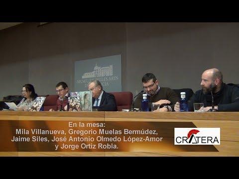 Presentación de la Revista Crátera - Valencia - España