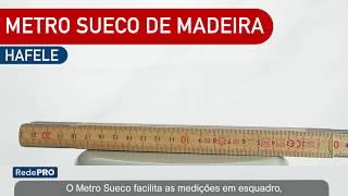 Oferta Imbatível - Metro Sueco Hafele