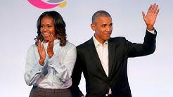 The Obamas announce podcast deal with Spotify