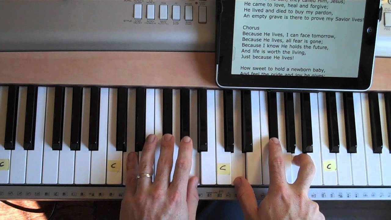 How To Play Newborn On Piano Easy To Play Piano Because He Lives Matt Mccoy