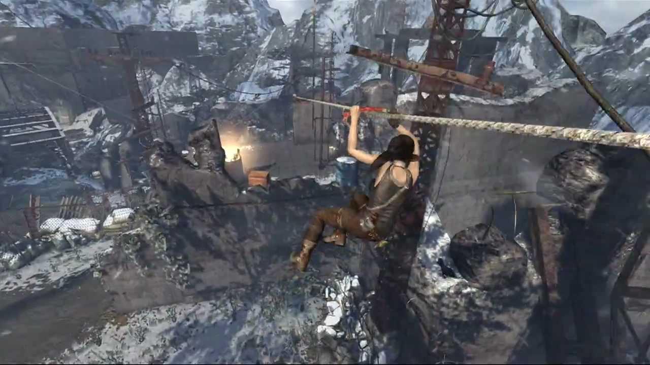 Tomb Raider - Base Exterior Treasure Map Location HD