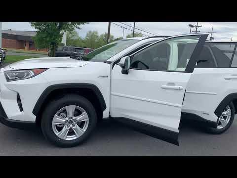 New 2019 Toyota RAV4 Hybrid XLE SUV AWD TK766