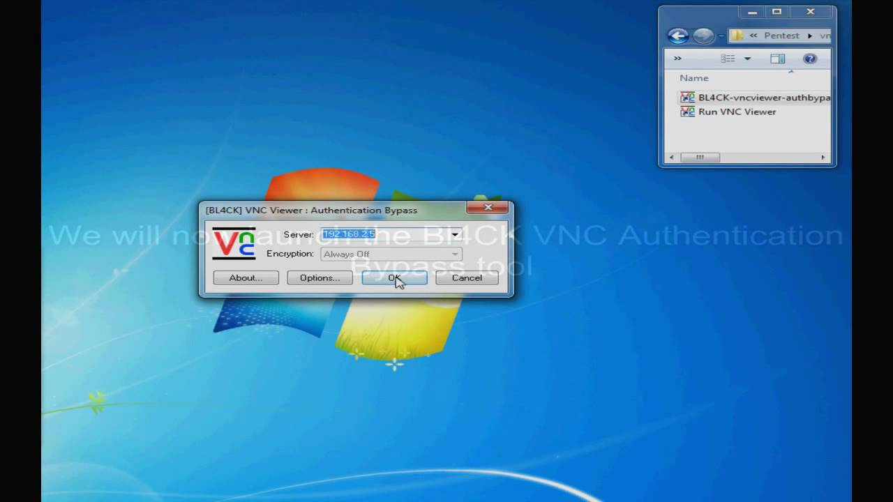 VNC Authentication Bypass