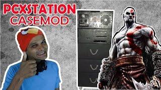CASEMOD - PCXSTATION - COM DIREITO A PC, PS3 E KRATOS!!!