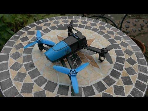 Parrot Bebop 1 Camera Drone Test.