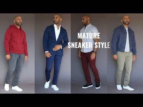 How Older Guys Should Wear Sneakers Feat. Beckett Simonon