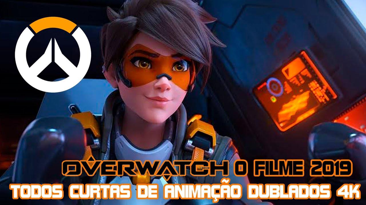 OVERWATCH: O FILME 2019 - TODOS CURTAS DE ANIMAÇÃO DUBLADOS 4K