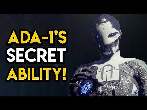Destiny 2 - ADA'S SECRET ABILITY NO OTHER EXO HAS! thumbnail