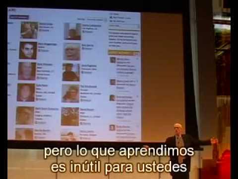 Seth Godin presenta Tribus subtitulado español [Parte 4 de 8]
