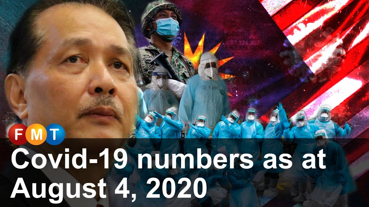 Covid-19 numbers as at August 4, 2020