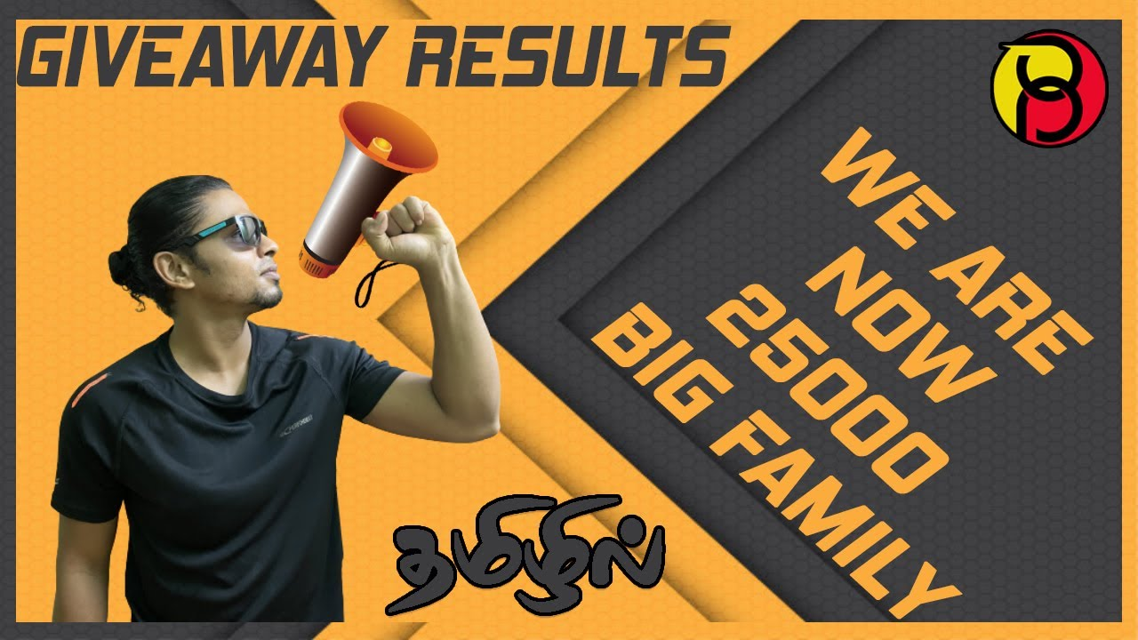 Giveaway Winners Announcement | Body Language | 25k Big family We Are Now Thank You All