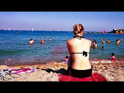 Barcelona Beach in the Summer.