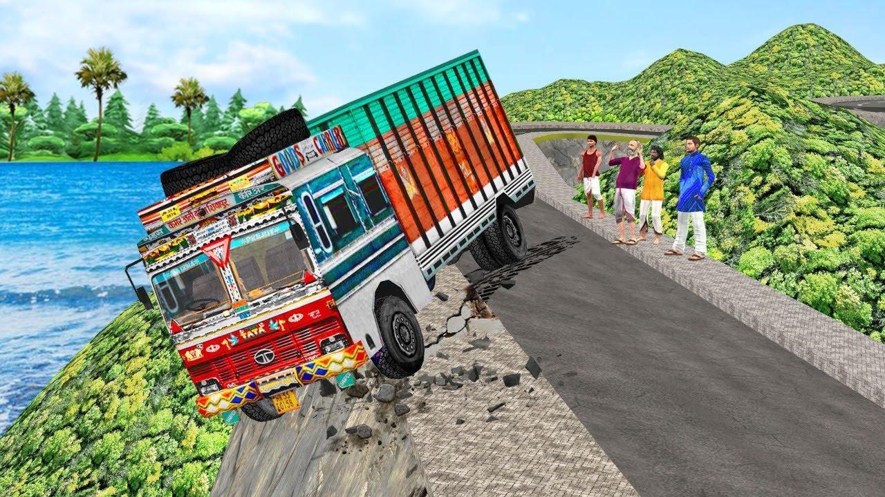 विशाल ट्रक बचाव दुर्घटना Giant Truck Rescue Comedy Video हिंदी कहानिया Hindi Kahaniya Comedy Video
