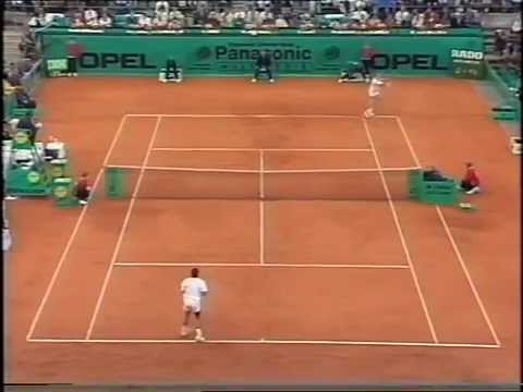ATP Hamburg 95 Yzaga vs Becker 2nd