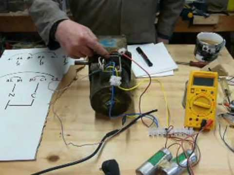 Three Phase Motor Control Wiring Diagram Piano Keyboard With Notes How To Do It: Run A 3 On Single Supply. Part - Youtube