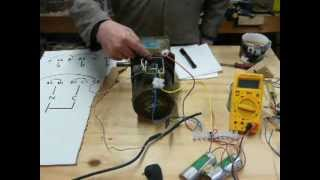 How to do it: run a 3 phase motor on single phase supply. part 3