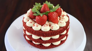Cách làm bánh Red Velvet siêu ngon, siêu đơn giản