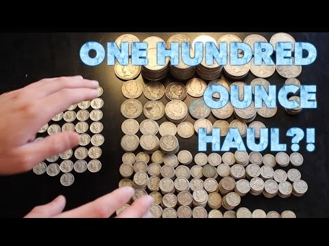 Mega Silver Coin Haul (trust me, you'll wanna watch it all)