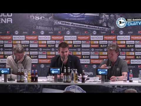 Pressekonferenz nach dem Spiel gegen Düsseldorf (2:1)