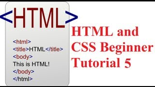 HTML and CSS Beginner Tutorial 5 : Add Video and Audio Media Player in HTML WebPage