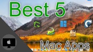 Top 5 Mac Apps 2017